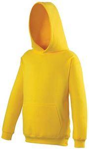 Afbeelding van College Kids Hoodie  Sun Yellow