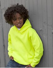 Picture of Electric Hoodie Kids Yellow