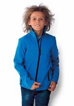 Picture of Kids' Softshell Jacket Kariban Aqua Blue