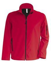 Picture of Kids' Softshell Jacket Kariban Red