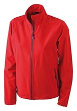 Picture of Dames Softshell Jack J&N Rood