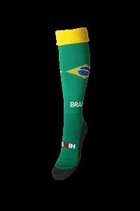 Afbeelding van  Landen Thema  Trainings Sokken Brazilië