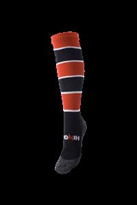 Afbeelding van Trainings Kousen Rugby Zwart Rood