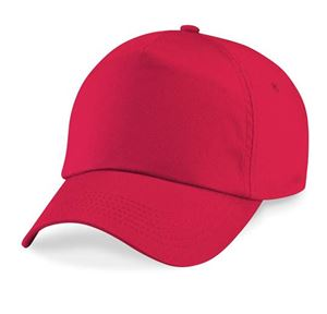 Afbeelding van Original 5 panel cap Bright Red