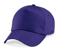 Picture of Original 5 panel cap Purple