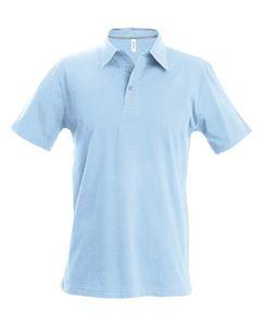 Afbeelding van Heren Polo met korte mouwen Kariban Sky Blue