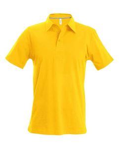 Afbeelding van Heren Polo met korte mouwen Kariban Yellow