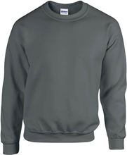 Picture of Team Sweater Heavy blend crew neck Gildan Charcoal