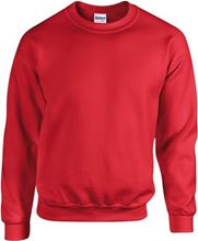 Picture of Team Sweater Heavy blend crew neck Gildan Red