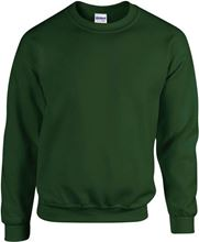 Picture of Team Sweater Heavy blend crew neck Gildan Forest Green