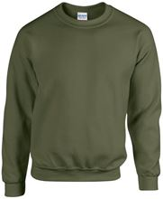 Picture of Team Sweater Heavy blend crew neck Gildan Military Green