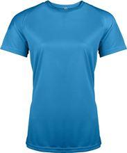 Picture of Dames Sport T-shirt Proact Aqua Blue