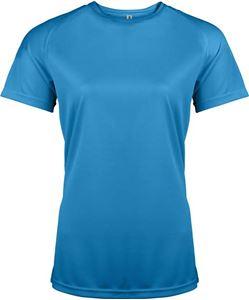 Afbeelding van Dames Sport T-shirt Proact Aqua Blue