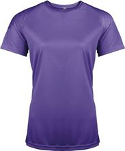Picture of Dames Sport T-shirt Proact Violet