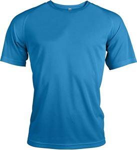 Afbeelding van Proact Heren Sport T-shirt Aqua Blue