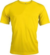 Picture of Proact Heren Sport T-shirt True Yellow