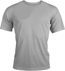 Afbeelding van Proact Heren Sport T-shirt Fine Grey