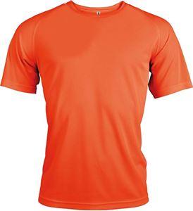 Afbeelding van Proact Heren Sport T-shirt Fluorescent Orange
