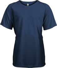 Picture of Proact Kids Sport T-shirt Sporty Navy