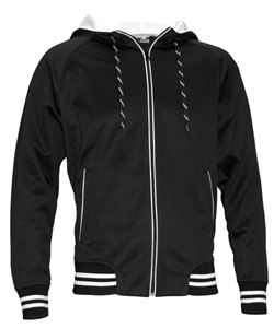 Afbeelding van SALE Spike Hooded Sweater Zwart
