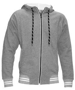 Afbeelding van SALE Spike Hooded Sweater grijs mêlee