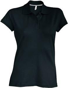 Afbeelding van SALE Dames Polo met korte mouwen Kariban Black