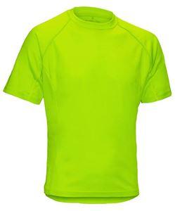 Afbeelding van SALE Heren T-Shirt Performance Lime XL