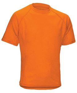 Afbeelding van SALE Heren T-Shirt Performance Orange -XXL