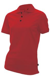 Afbeelding van SALE Monroe 100% CoolDry Dames Poloshirt Rood - M