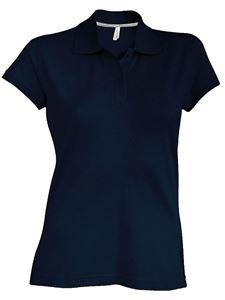 Afbeelding van SALE Dames Polo met korte mouwen Kariban Navy - L