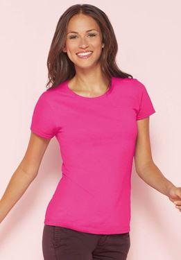 Picture of Premium Cotton Ladies Gildan T-shirt