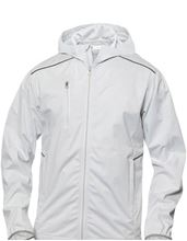 Picture of Softshell Jack met Capuchon Clique Monroe voor Teams Wit