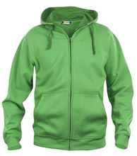 Picture of Clique Basic Hoody Full Zip  Grasgroen