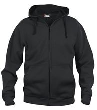 Picture of Clique Basic Hoody Full Zip  Zwart