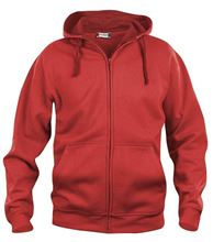 Picture of Clique Basic Hoody Full Zip  Rood