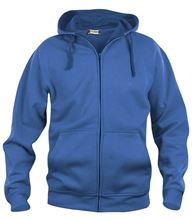 Picture of Clique Basic Hoody Full Zip  Kobalt Blauw