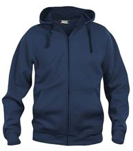 Picture of Clique Basic Hoody Full Zip  Donkerblauw