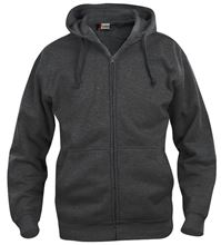Picture of Clique Basic Hoody Full Zip  Antracietmelange