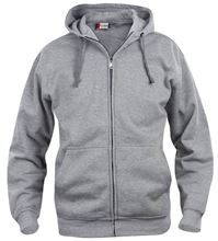 Picture of Clique Basic Hoody Full Zip  Grijsmelange