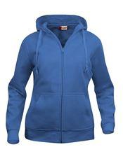 Picture of Clique Basic Hoody Full Zip Ladies  Kobalt Blauw