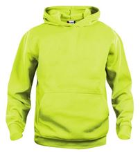 Picture of Clique Basic Hoody Junior Signaal Groen