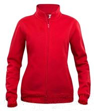 Picture of Dames Sweatshirt Clique Cardigan met rits Rood