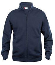 Picture of Sweatshirt Clique Cardigan met rits Donkerblauw