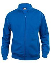 Picture of Sweatshirt Clique Cardigan met rits Kobalt Blauw
