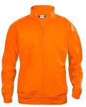 Picture of Sweatshirt Clique Cardigan met rits Signaal Oranje