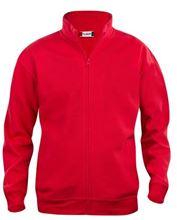 Picture of Sweatshirt Clique Cardigan met rits Rood