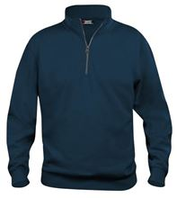 Picture of Clique Basic Sweater Half Zip Donkerblauw