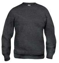 Picture of Clique Basic Roundneck Sweater Antracietgrijs