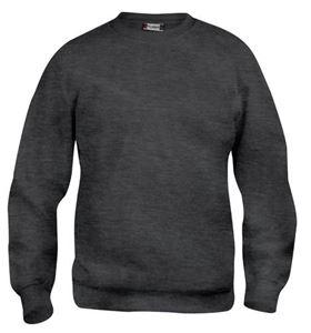Afbeelding van Clique Basic Roundneck Sweater Antracietgrijs