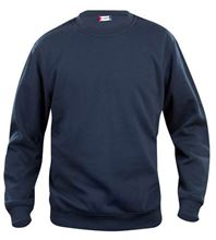 Picture of Clique Basic Roundneck Sweater Donkerblauw